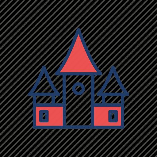 building, castle, estate, house icon