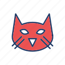 animal, cat, kitty, pet icon
