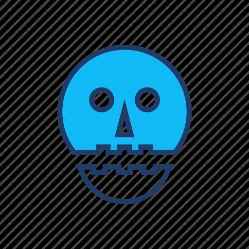 clown, scary, vampire, zombie icon