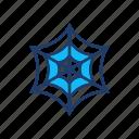arachnid, cobweb, spider, web icon