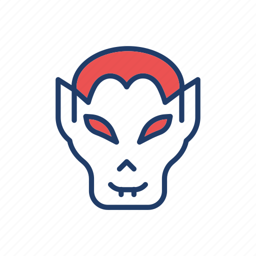 clown, creepy, halloween, zombie icon