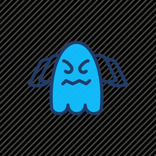 creepy, ghost, halloween, spooky icon