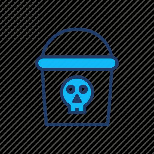 delete, dustbin, ghost, trash icon