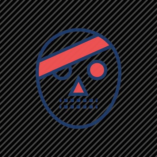 creepy, halloween, monster, mummy icon