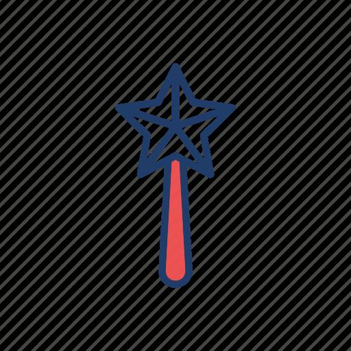 magic, stick, wand, wizard icon