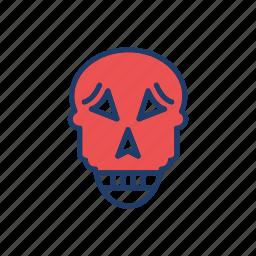 clown, dracula, skull, vampire icon