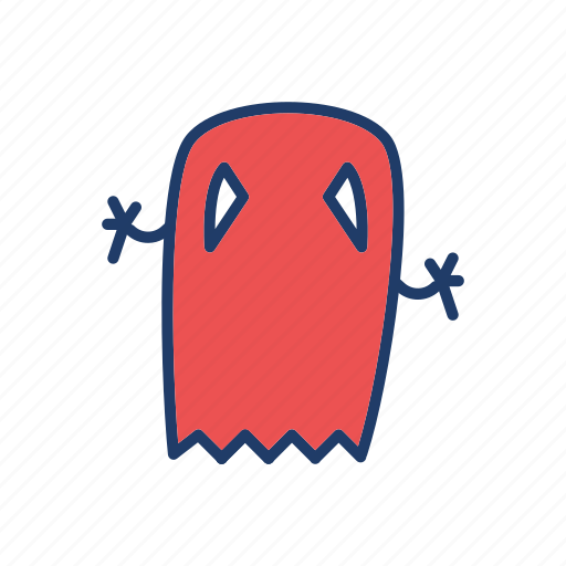 boo, ghost, skull, zombie icon