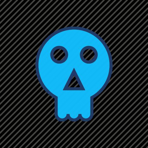 creepy, ghost, skull, vampire icon