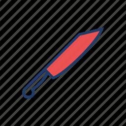 chop, kill, knife, weapon icon