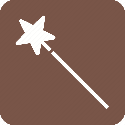 magic, magic wand, magician, wand, witch, wizard icon