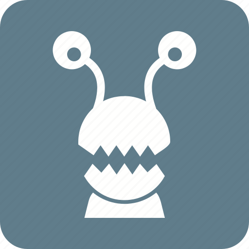 alien, cartoon, frankenstein, halloween, horror, monster, monsters icon