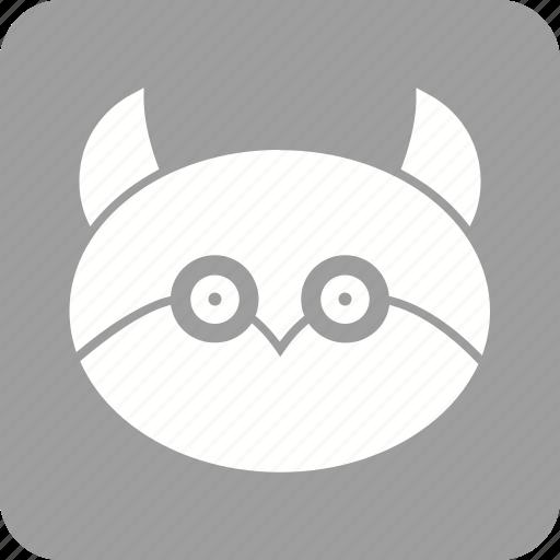 bird, dark, halloween, horror, midnight, owl, tree icon