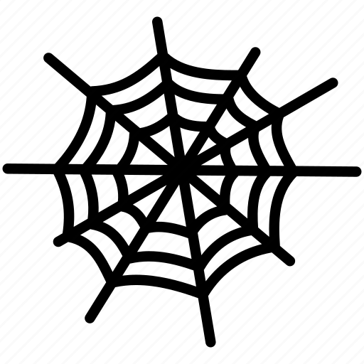 cobweb, halloween, net, silk, spider, web icon