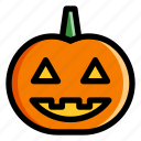 decoration, halloween, jackolantern, pumpkin, season icon