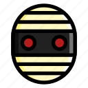 costume, halloween, mummy, scary, spooky icon
