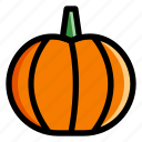 autumn, decoration, halloween, october, pumpkin, vegetables icon