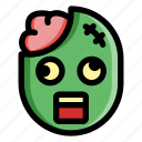 halloween, horror, monster, scary, spooky, zombie icon