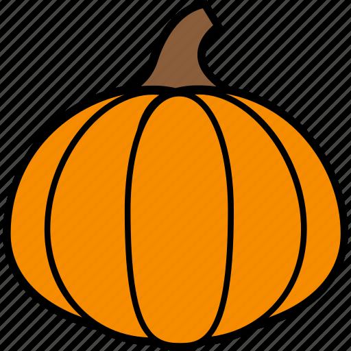 halloween, holiday, pumpkin, vegetable icon