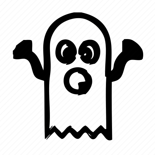 death, ghost, halloween, horror, scary, spooky icon