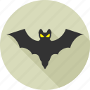bat, death, ghost, halloween, horror, scary, witch icon