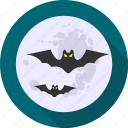 bat, bats, ghost, halloween, haunted, horror, witch icon