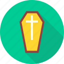 coffin box, coffinbox, dead, death, graveyard, rip, tombstone icon