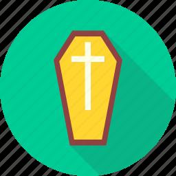 coffin box, coffinbox, dead, death, graveyard, rip, tombstone icon