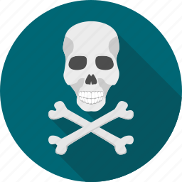 caution, danger, helloween, poison, sign, skull, warning icon