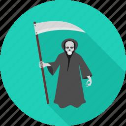 danger, death, evil, halloween, horror, monster, scary icon