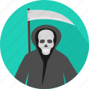 death, evil, ghost, halloween, horror, spooky, witch icon