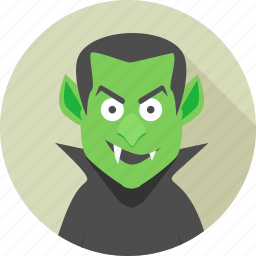 bad, dangerous, dracula, evil, ghost, green, man icon