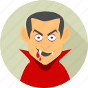 blood, dracula, evil, ghost, halloween, monster, scary icon