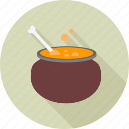 cooking, food, halloween, horror, pot icon
