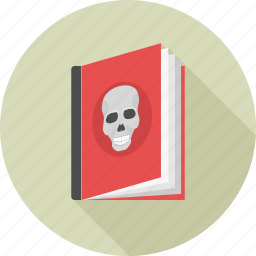 book, ghost, horror, monster, novel, stories, story icon