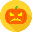angry, cartoon, emoticon, expression, face, pumpkin, sad icon