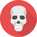 caution, danger, hazard, poison, sign, skeleton, skull icon