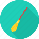 broom, evil, ghost, halloween, magic, wand, witch icon