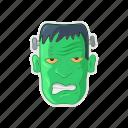frankenstein, green, halloween, monster