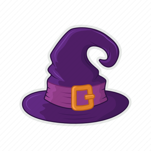 halloween, hat, witch, witch hat icon