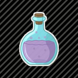 glass, halloween, poison, potion, tube icon