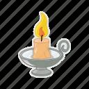 candle, fire, halloween, melt