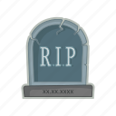 cemetery, grave, halloween, tomb icon