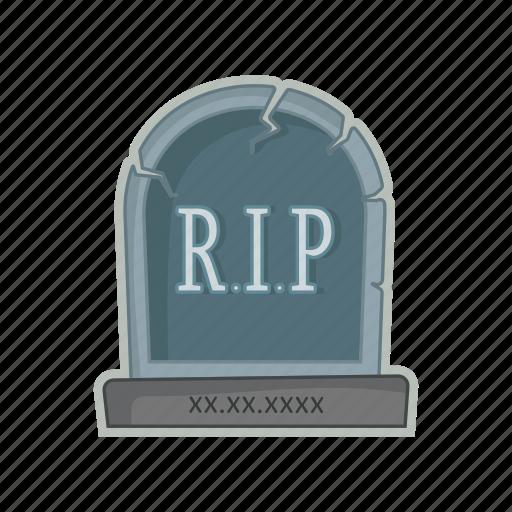 cemetery, grave, halloween, tomb icon