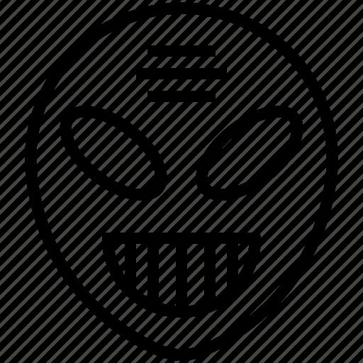 alien, evil, halloween, horror, monster icon