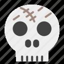 fear, ghost, horror, scary, skull, spooky, terror