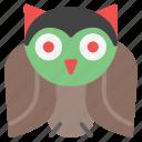 crow, fear, owl, raven, scary, spooky, terror