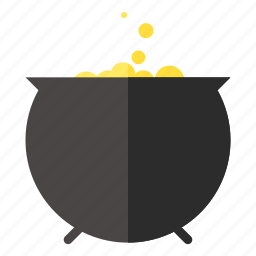 bubbling, cauldron, cooking, halloween, pot, scary, vat icon