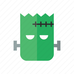 cartoon, frankenstein, green, halloween, horror, monster, scary icon