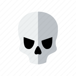 danger, dead, death, halloween, scary, skeleton, skull icon