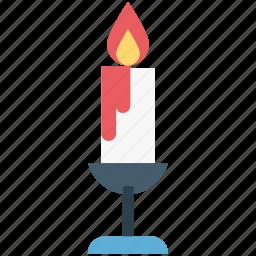 candle, halloween burning candle, halloween candle, halloween candle light, scary icon